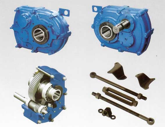 Shaft mounted gearbox manufacturer parallel gear